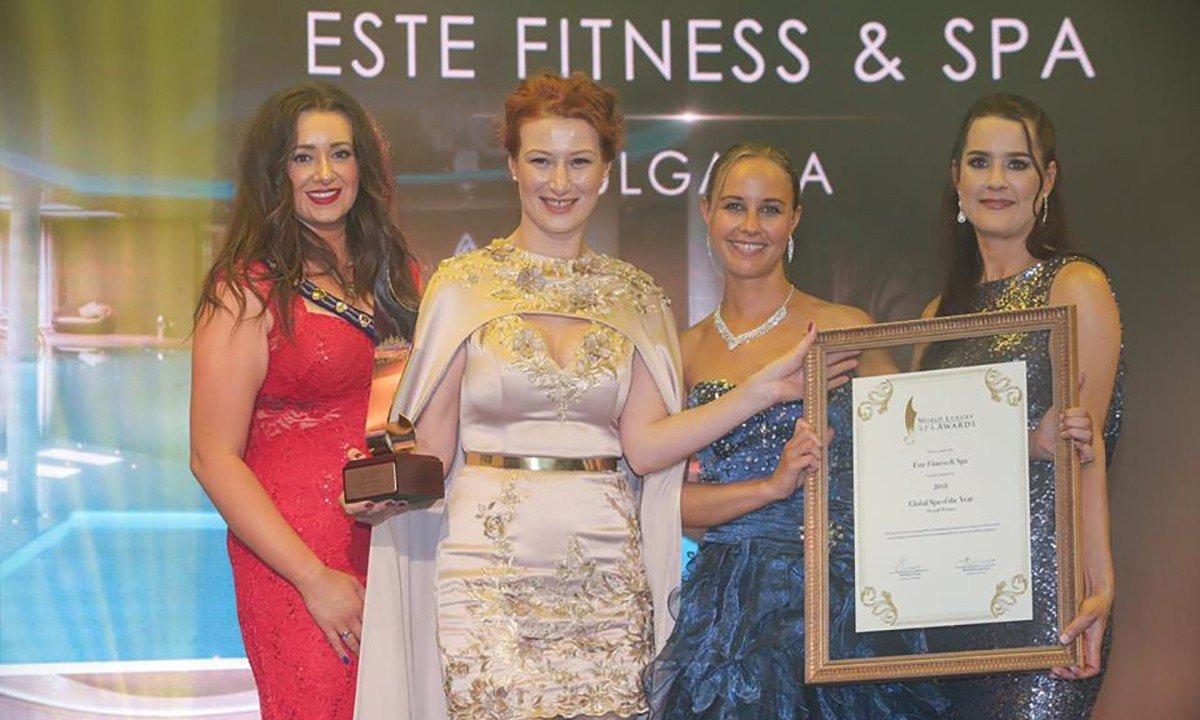 надя халачева, надежда халачева, най-добър спа център, спа център, este fitness spa, world luxury spa awards
