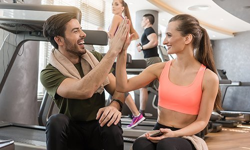 влезете във форма, добра фирма, фитнес съвети