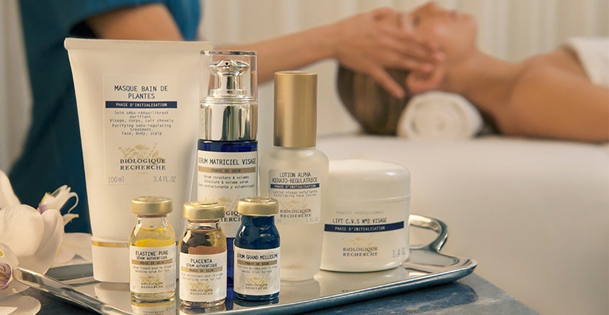 блясъка на кожата, процедури, biologique recherche