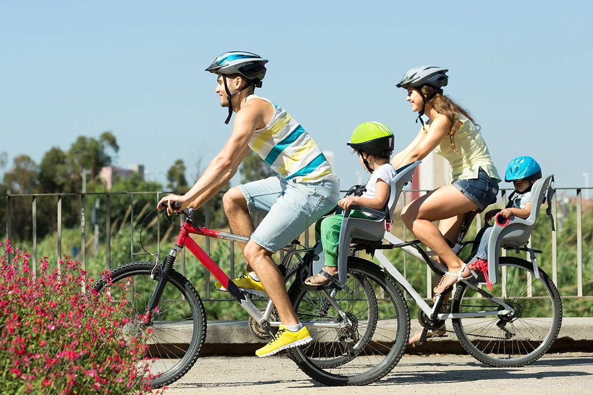 движение през лятото, каране на колело, летен детокс